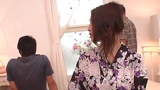 Reiko Kobayakawa sure loves fucking in dirty modes