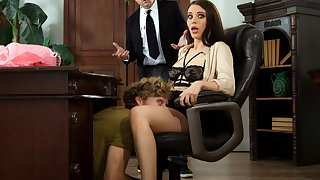 Lana Rhoades Fucks at the Office