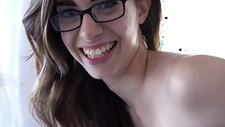 Soft solo by girl with glasses