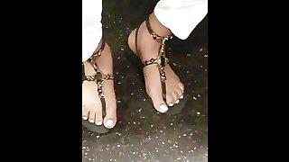 Candid pretty girl feet pt3