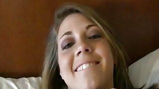 Amateur Blonde Tattooed Babe On Homemade Masturbation Sex