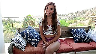 New petite Kaylee Haze