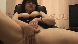 Busty mature Tanya talks dirty