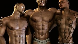 3D Toned Boys Gay Fantasies!