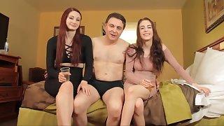 Violet monroe and anna de ville porn with andrea dipre