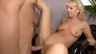Amazing Amateur record with Blonde, Mature scenes
