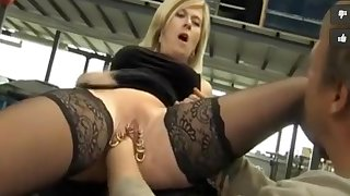 Incredible Homemade record with Stockings, Piercing scenes