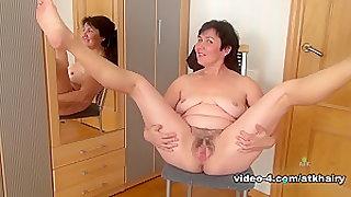 Horny pornstar in Crazy Hairy, Brunette porn scene