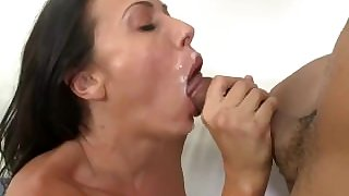 BANGBROS - Rachel Starr Cumshot Compilation Video