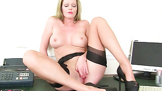 Best of British secretaries: Clare Cream, Silky Thighs Lou and Sofia Rae