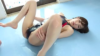 Incredible Japanese girl Airi Suzumura in Hottest sports, showers JAV movie