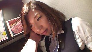 Fabulous Japanese chick An Mizuki in Exotic office JAV movie