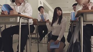 Crazy Japanese girl Marina Shiraishi in Horny public JAV movie