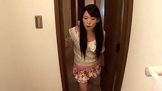 Exotic Japanese girl Akie Harada in Amazing fetish, panties JAV movie