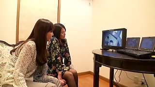 Hottest Japanese whore Misa Yuuki, Amateur in Best fingering, lesbian JAV video