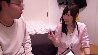 Fabulous Japanese girl Honomi Uehara in Hottest handjobs, couple JAV video