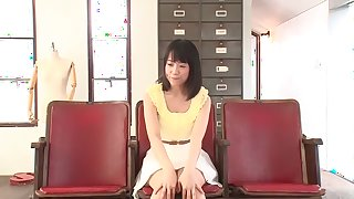 Crazy Japanese chick Mami Nagase in Best striptease, solo girl JAV scene