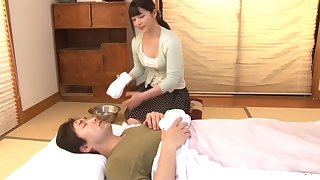 Amazing Japanese model Ai Uehara in Horny masturbation, couple JAV video