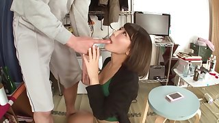 Yuu Shinohara in Unequaled Big Celebrity Wife Nakadashi part 3