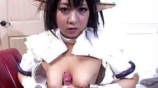 Amazing Japanese girl Hitomi Kitagawa in Crazy JAV censored Big Tits, Cumshots movie