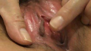 Iori Mizuki enjoys full inches of cock in her tight holes