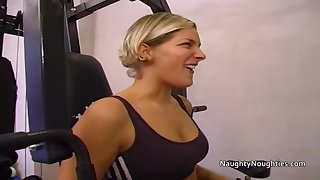 The assholes of two blondes are fingered licked and fucked