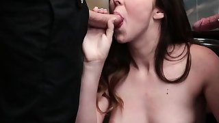 Cute thief Lexi Lovell boned by two horny LP officers