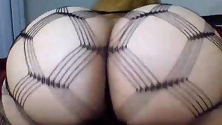 Fat man ass fucks his thin blonde wife