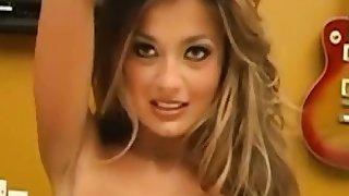 Blonde Darcy Tyler with big dream boobs