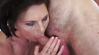Sinfully sexy slut finds herself getting boned by horny guy